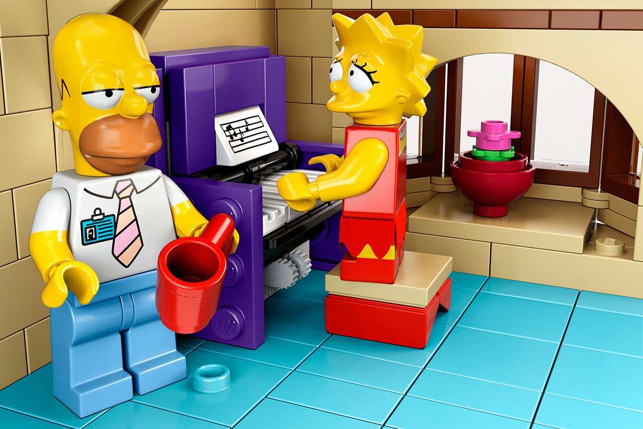 The Simpsons x Lego The Simpsons House 6