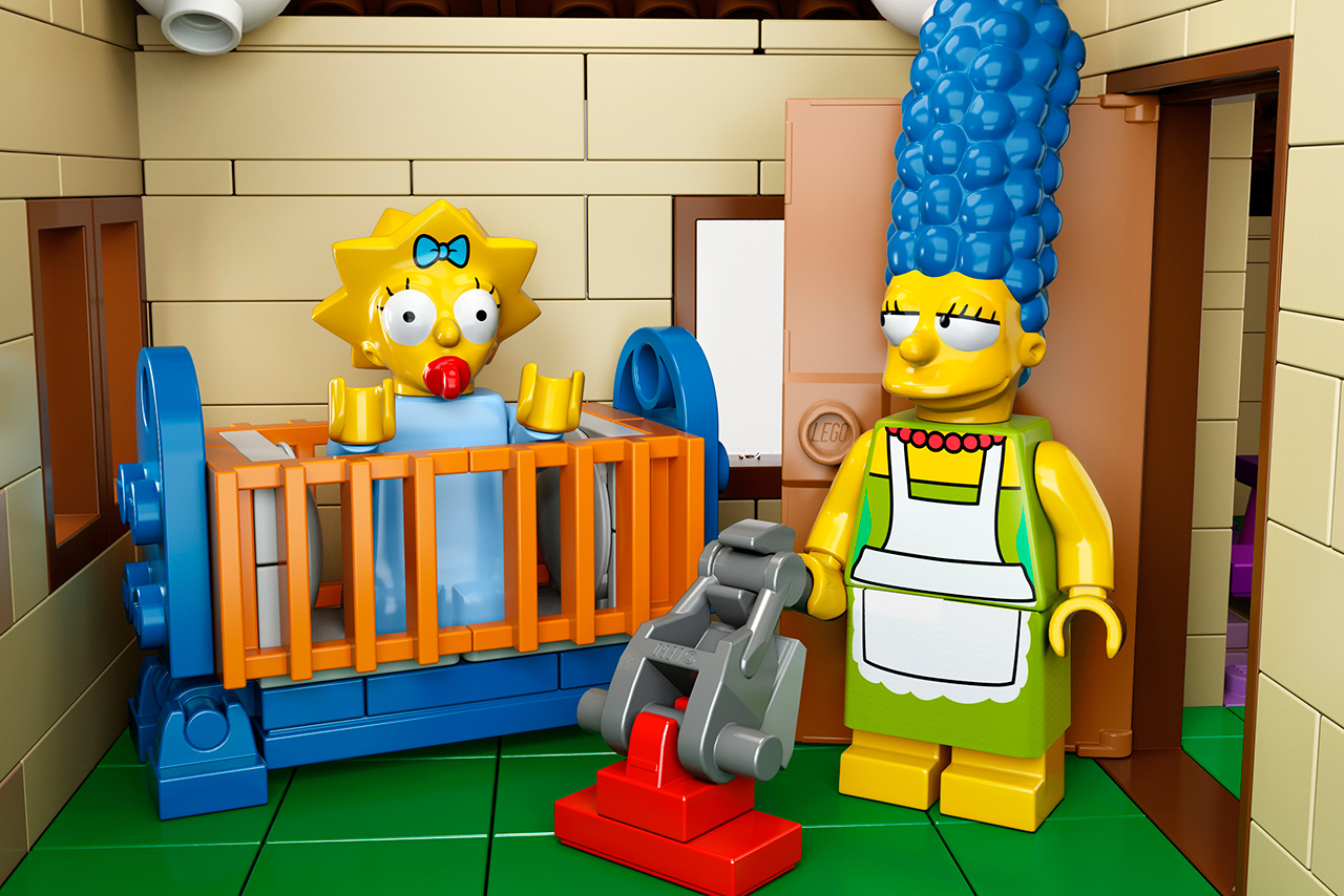 The Simpsons x Lego The Simpsons House 7