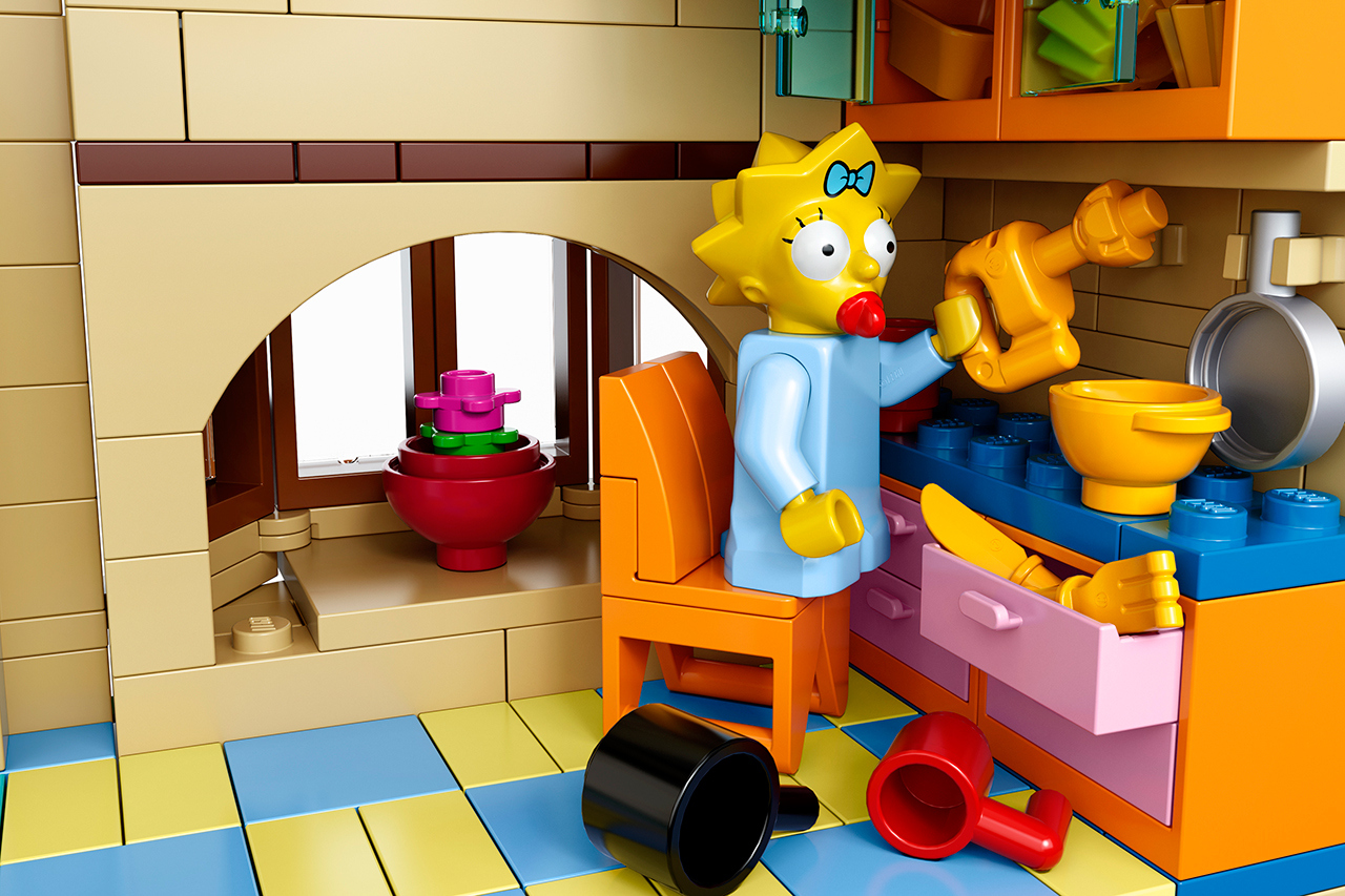 The Simpsons x Lego The Simpsons House 8