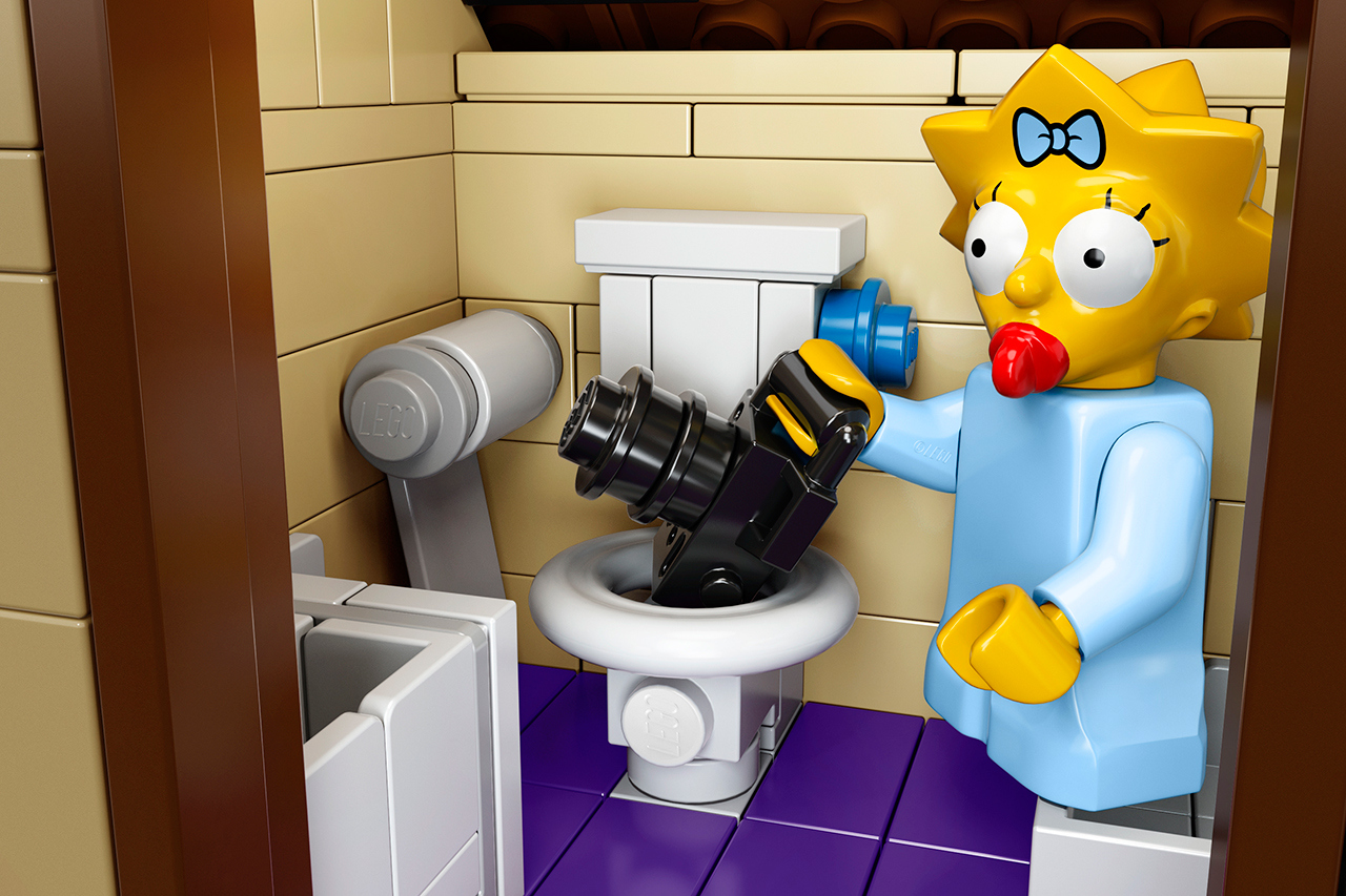 The Simpsons x Lego The Simpsons House 9