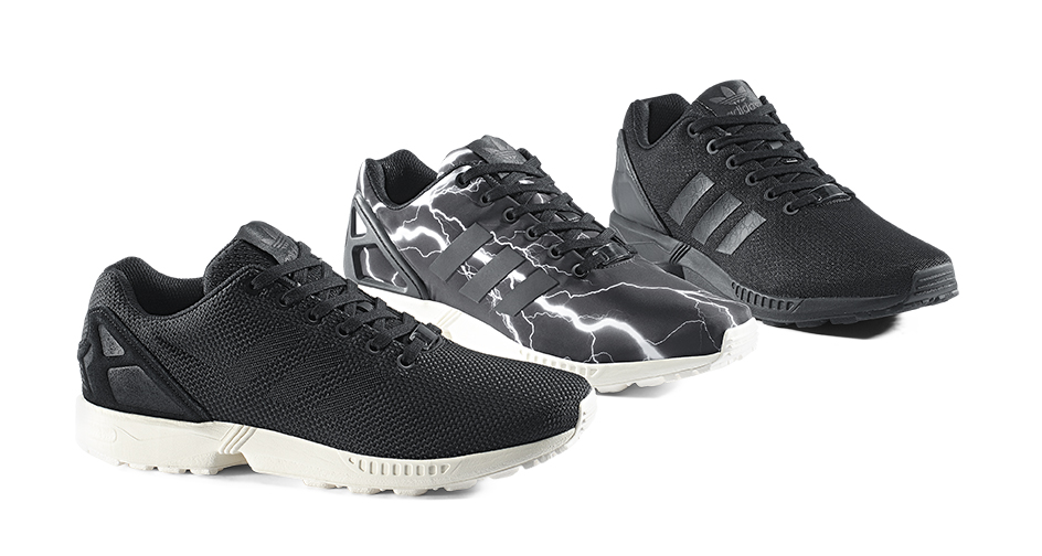 adidas ZX FLUX Black Pack 1
