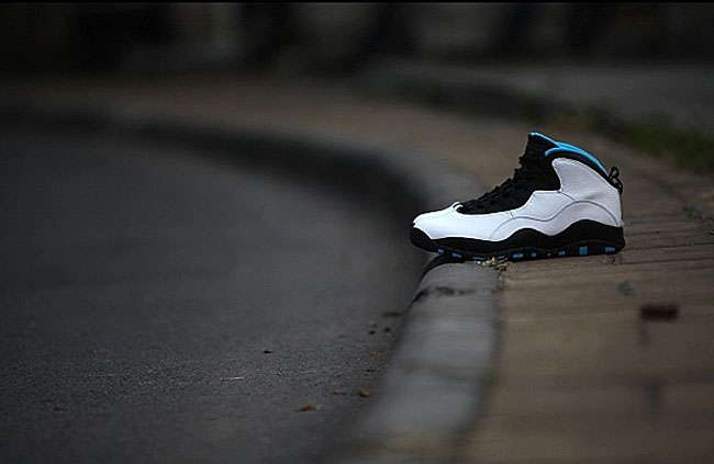 Air Jordan 10 Retro Powder Blue 4