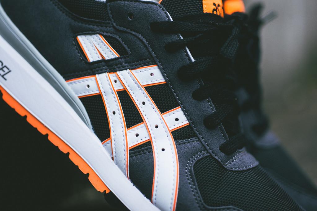Asics GT II Black Bright Orange 4