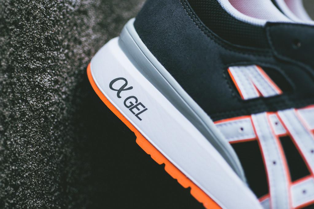 Asics GT II Black Bright Orange 5