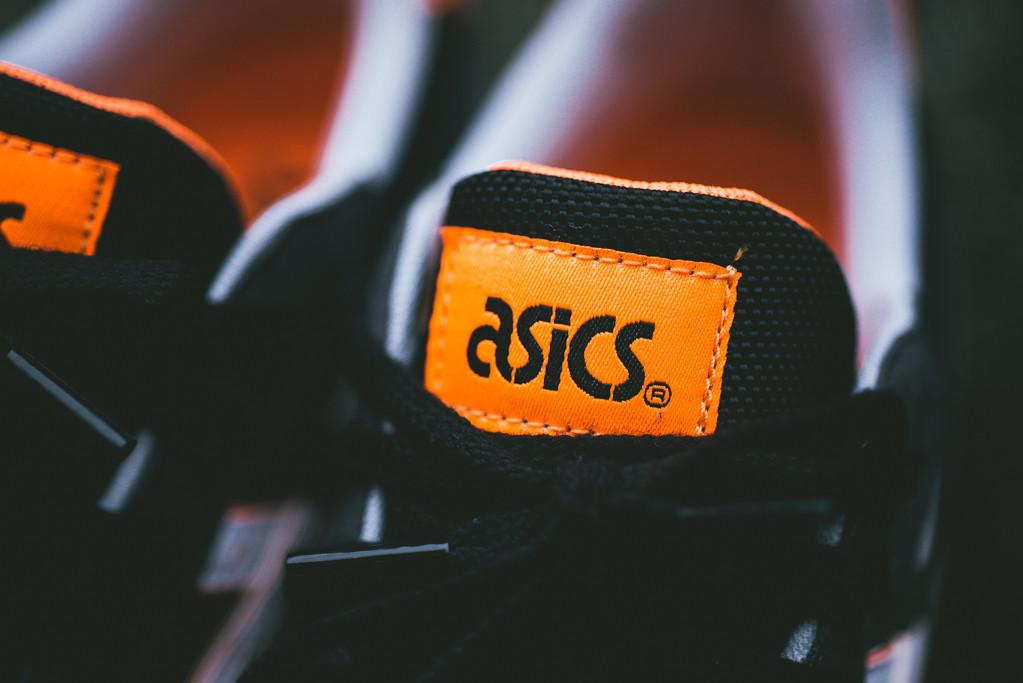 Asics GT II Black Bright Orange 6