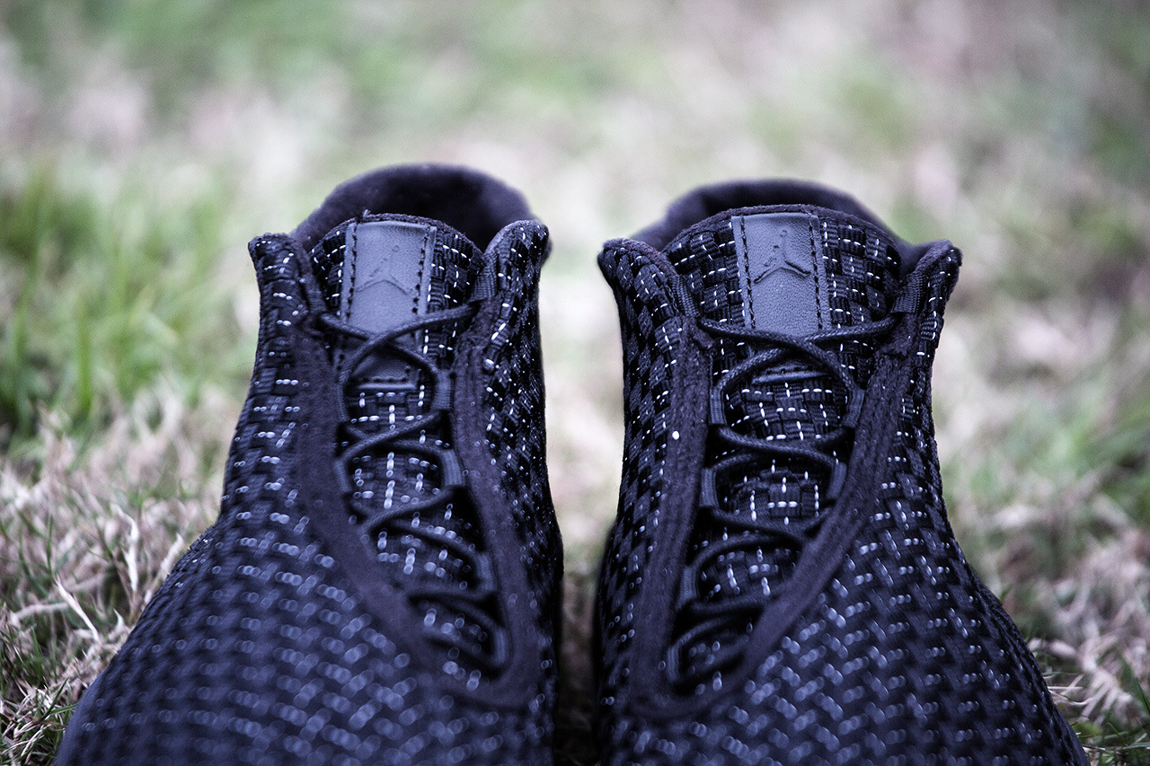 Jordan Future Black White 3