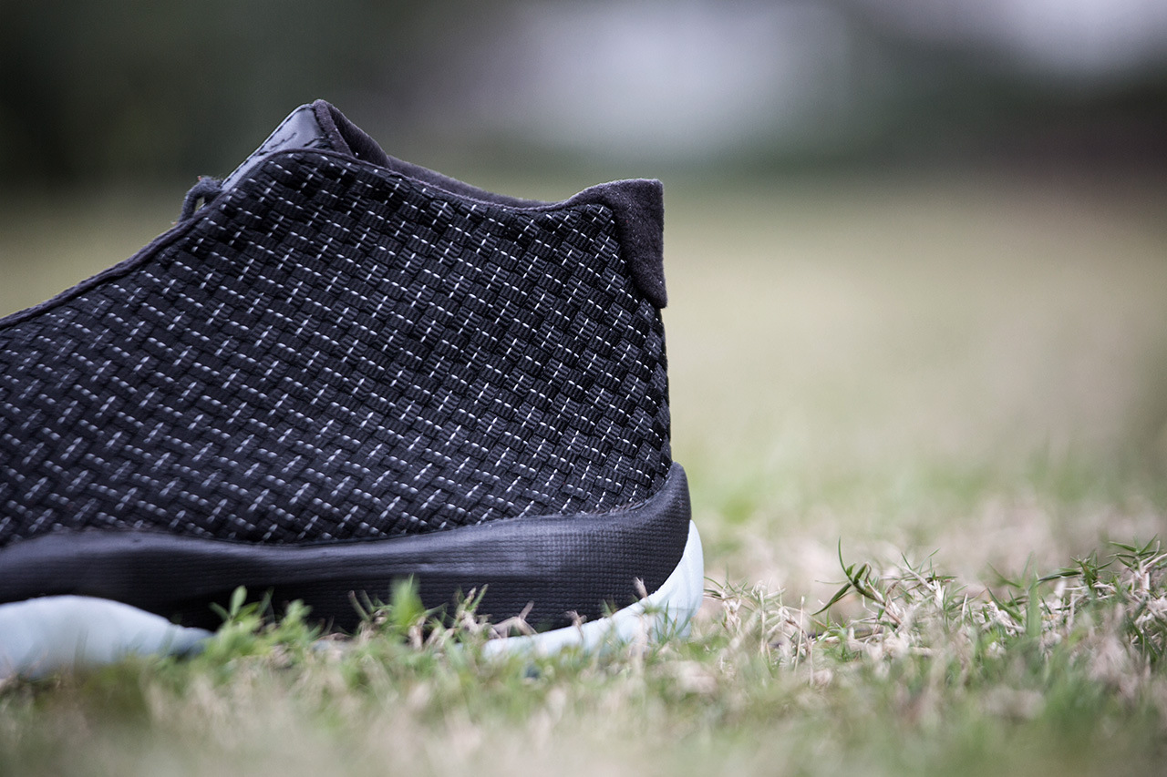 Jordan Future Black White 4