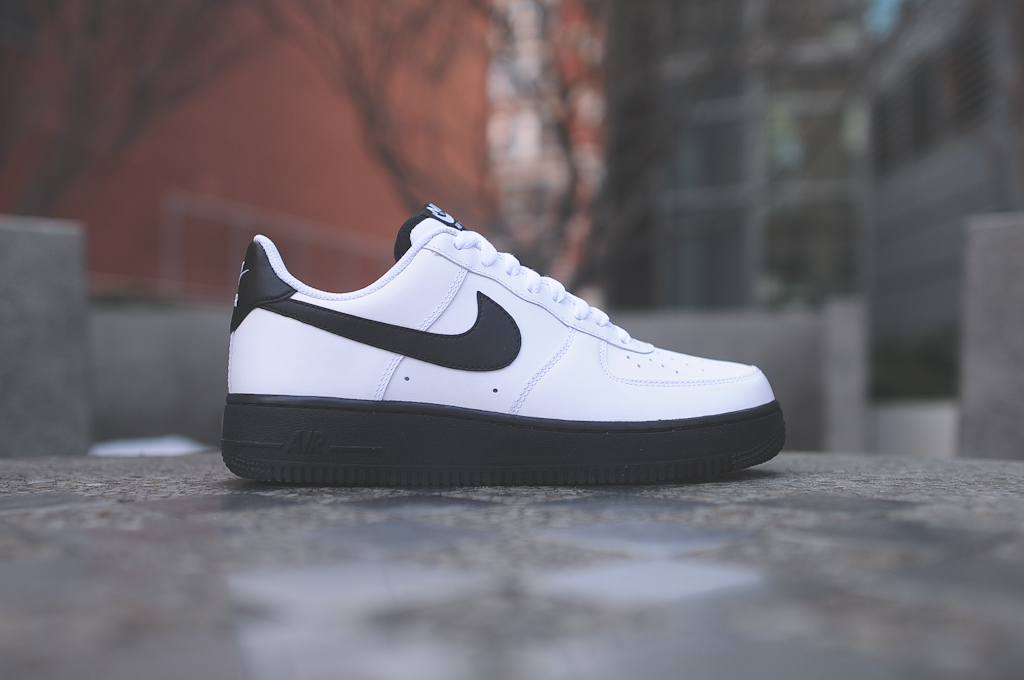 Nike Air Force 1 Low Black White 1