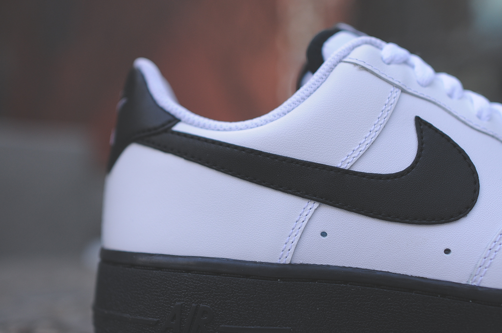 Nike Air Force 1 Low Black White 3