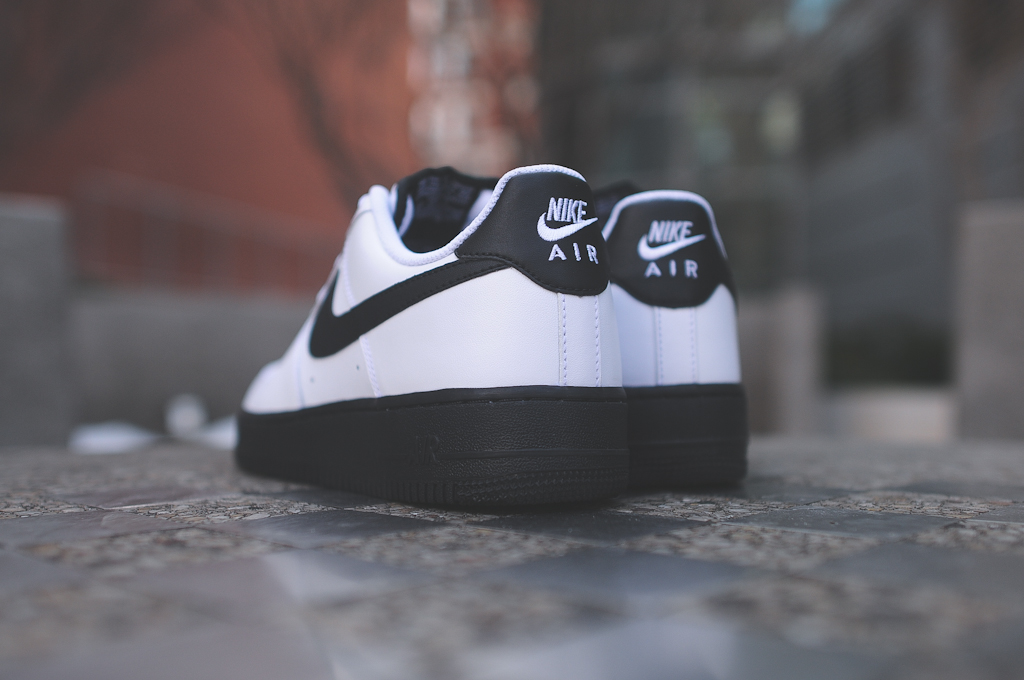 Nike Air Force 1 Low Black White 4