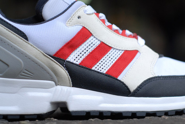adidas EQT Cushion Grey Navy Red 3