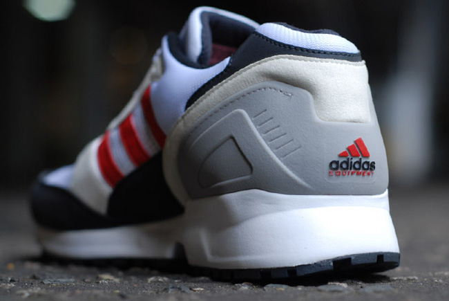 adidas EQT Cushion Grey Navy Red 5