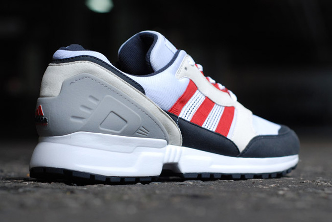 adidas EQT Cushion Grey Navy Red 6
