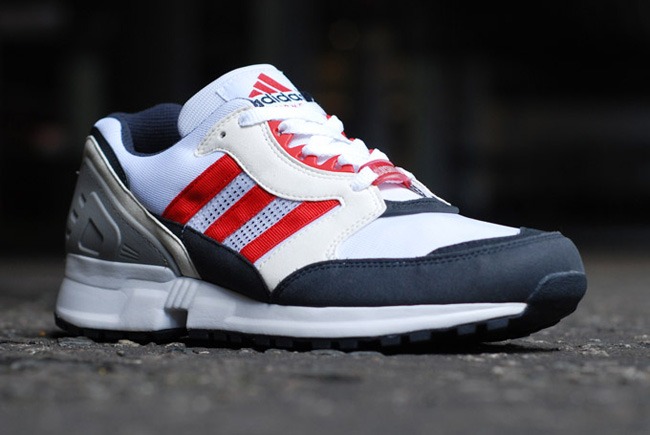 adidas EQT Cushion Grey Navy Red 7