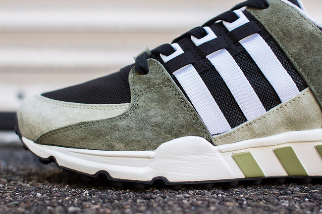 adidas EQT Running Support 93 Green 3