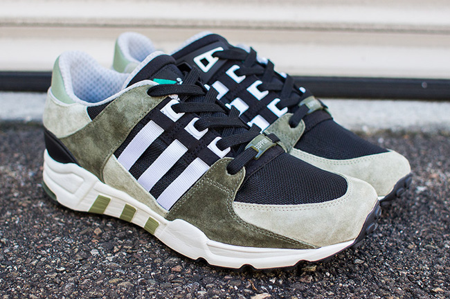 adidas EQT Running Support 93 Green 5
