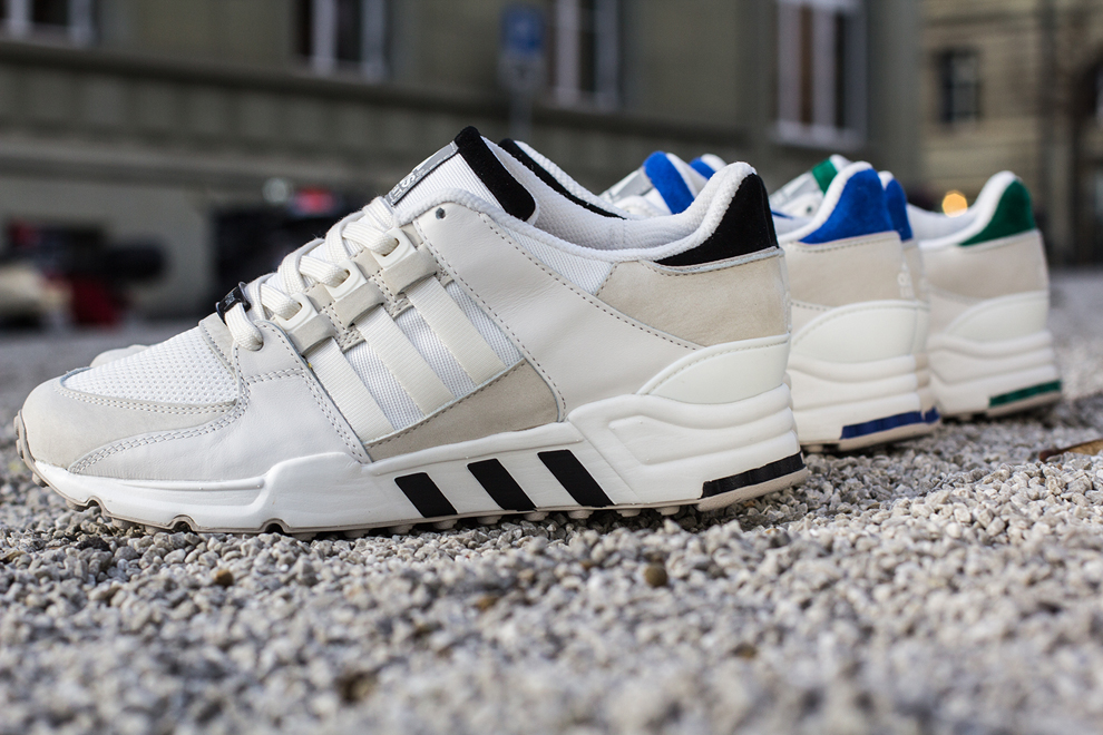adidas EQT Running Support 93 White Pack 1