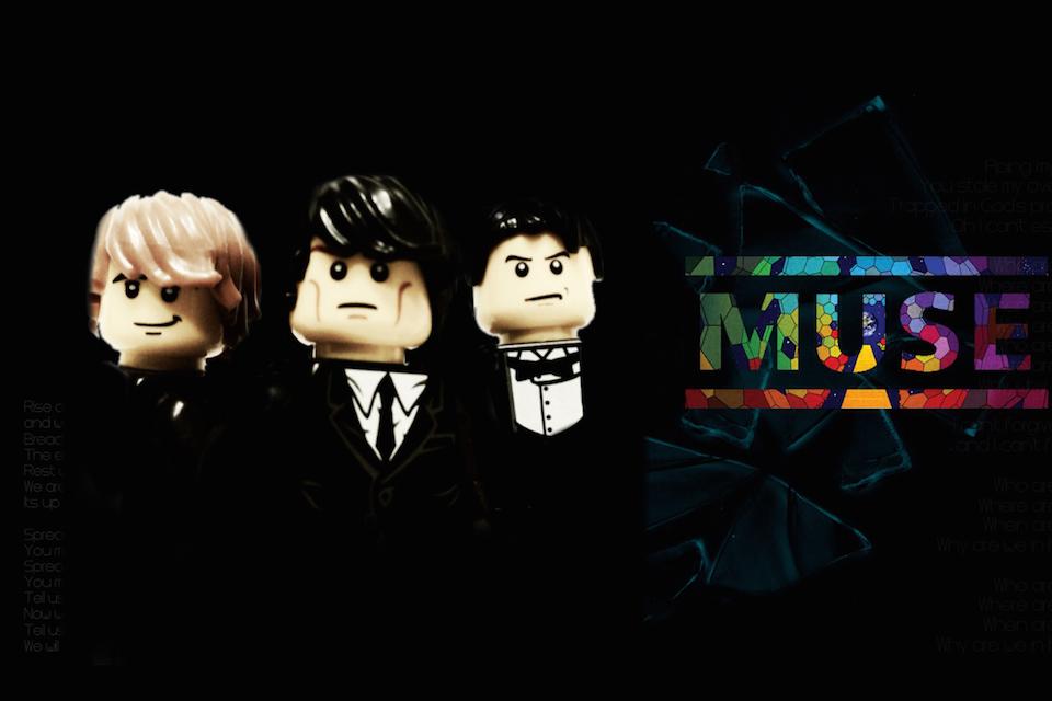 20 Iconic Bands x LEGO 11