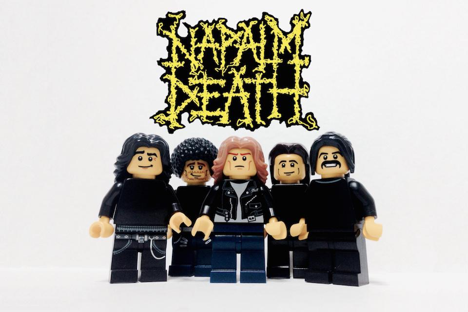 20 Iconic Bands x LEGO 20