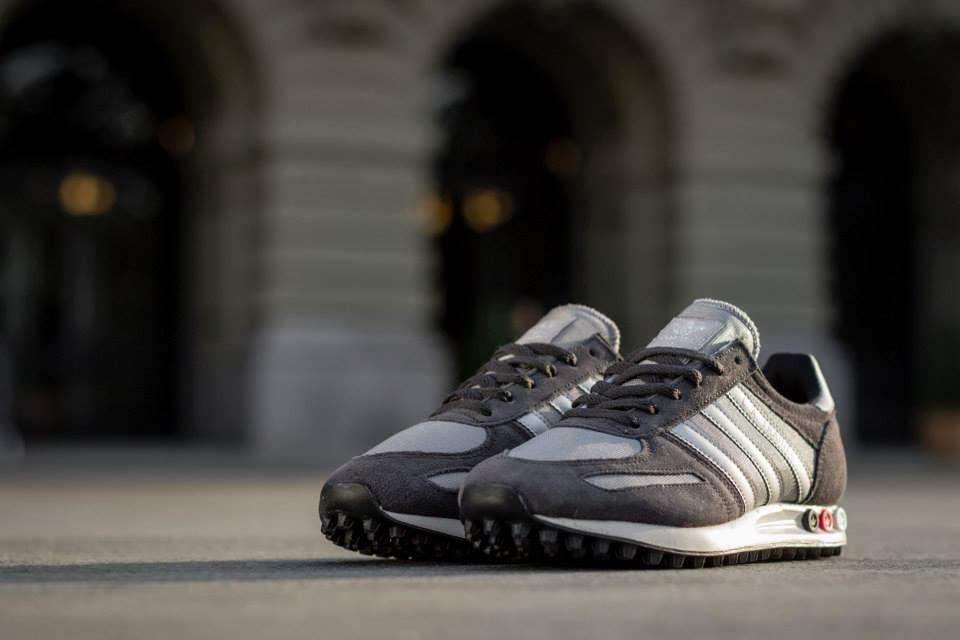 Adidas LA Trainer Silver White 2