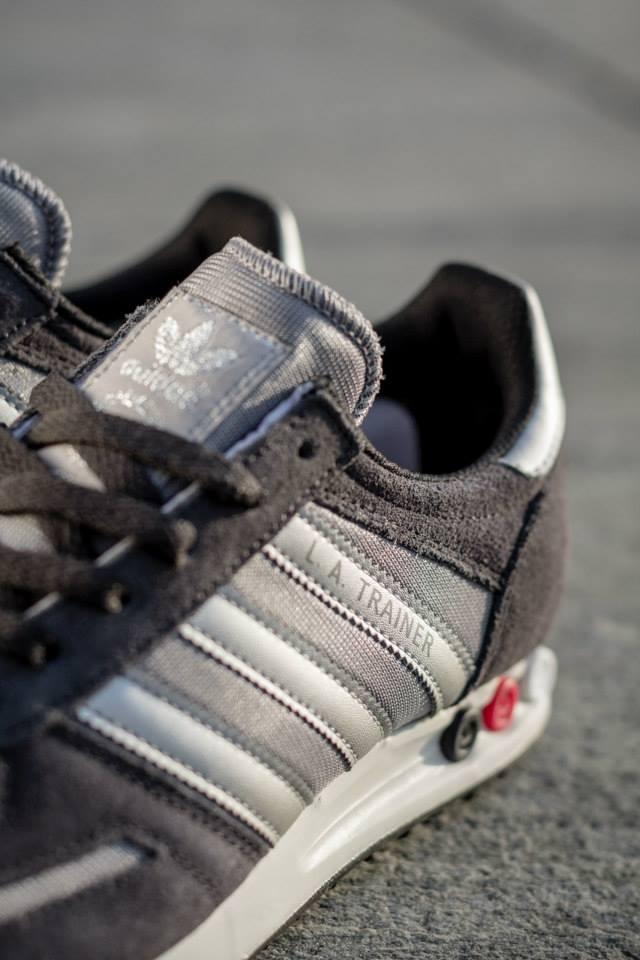 Adidas LA Trainer Silver White 4