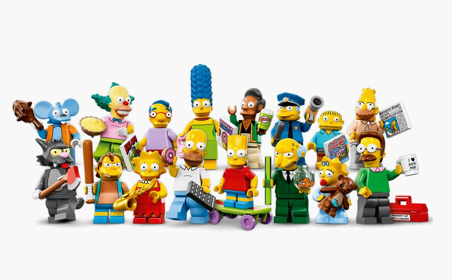 LEGO x The Simpsons Minifigures 1