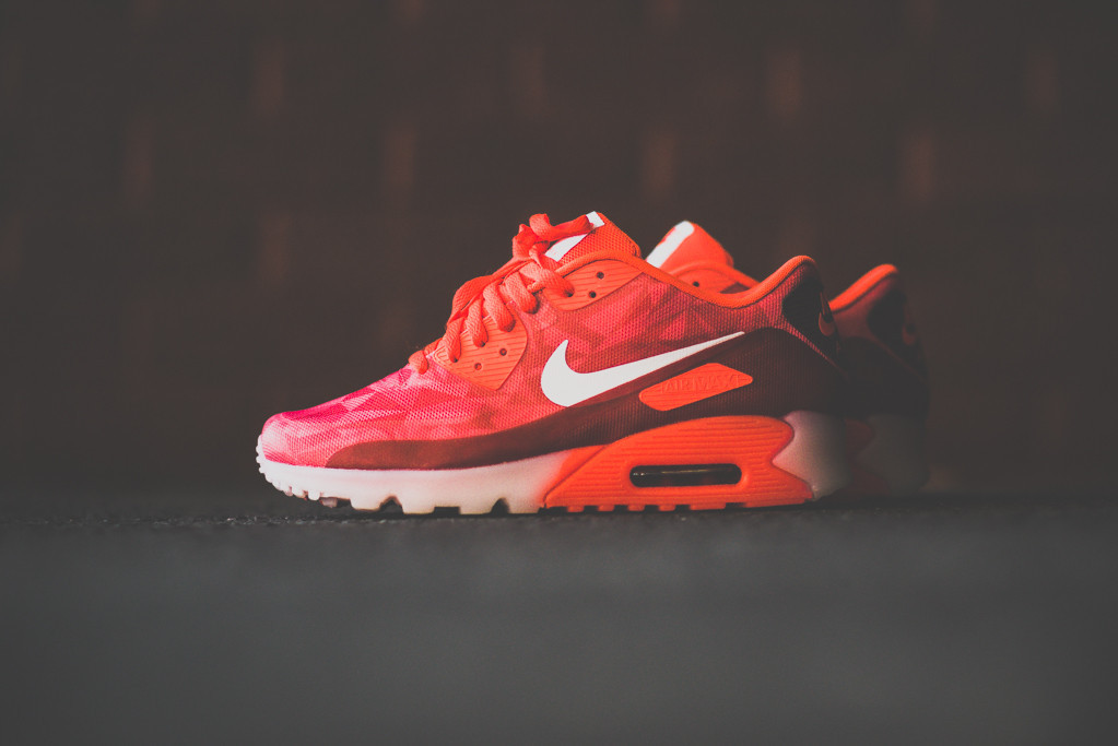 Nike Air Max 90 ICE Laser Crimson 1