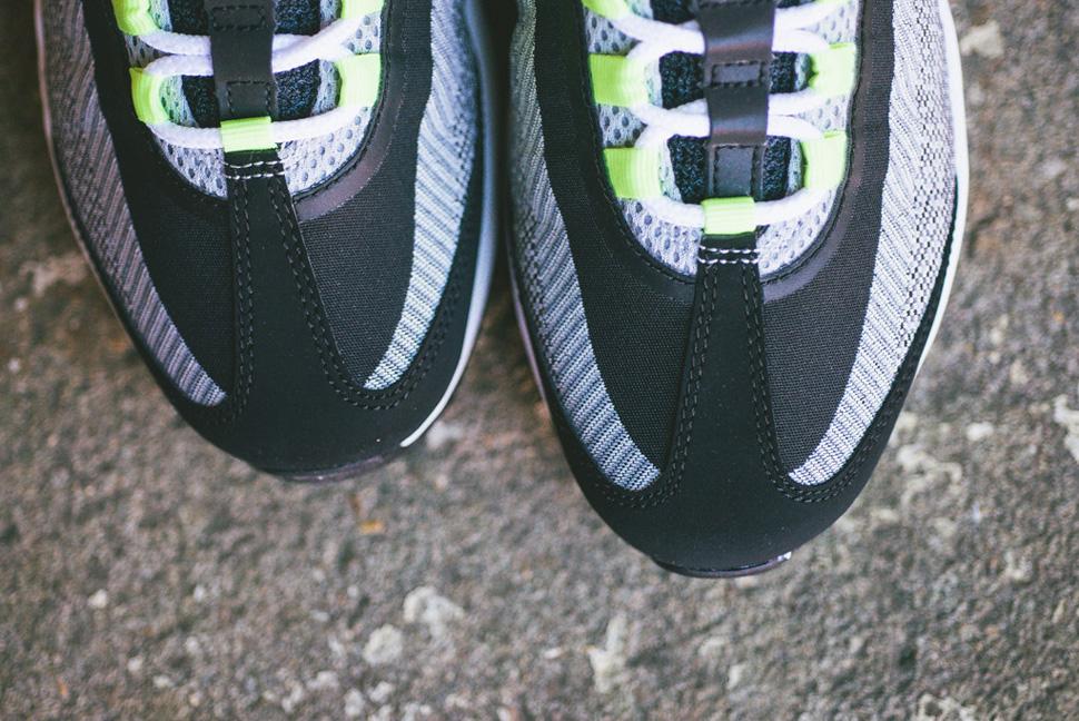 Nike Air Max 95 Jacquard Black Grey Volt 3