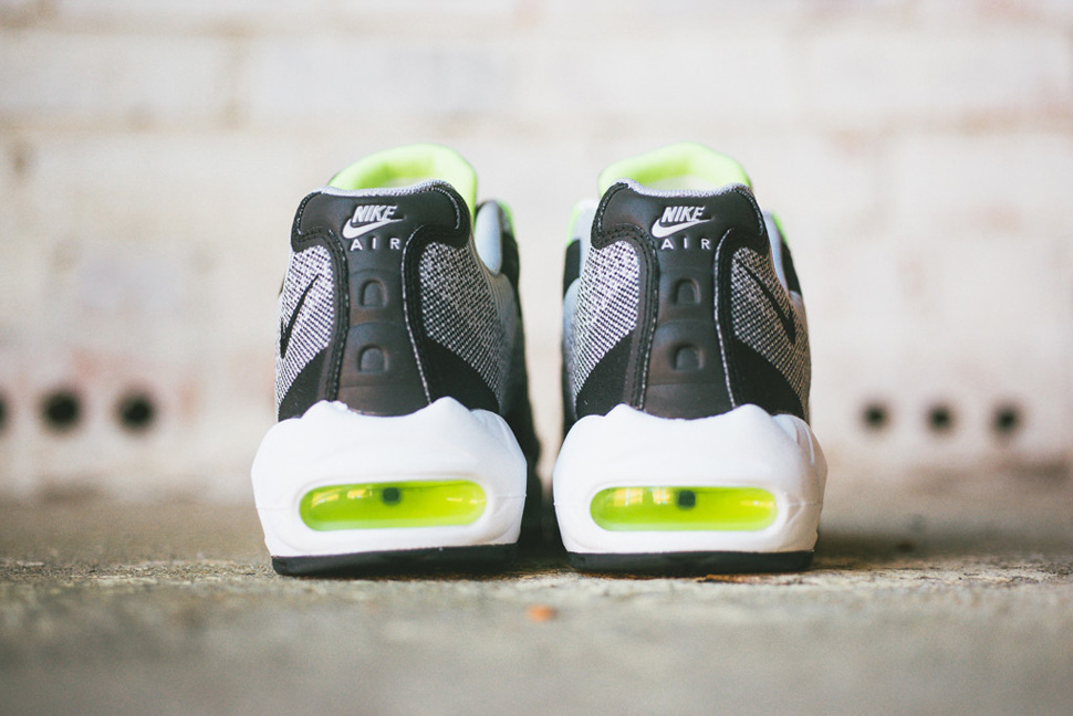 Nike Air Max 95 Jacquard Black Grey Volt 6