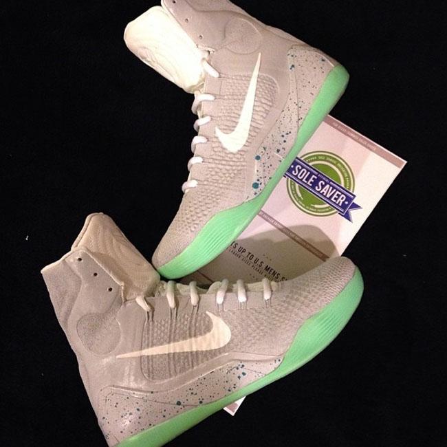 Nike Kobe 9 Elite Air Mag Custom 5