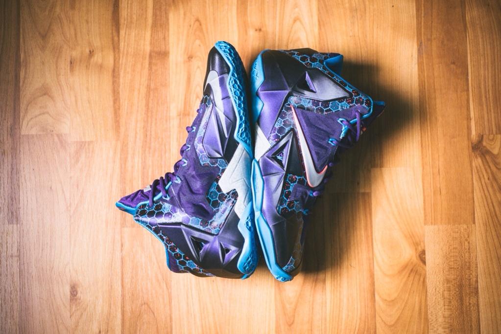 Nike LeBron 11 Court Purple 2