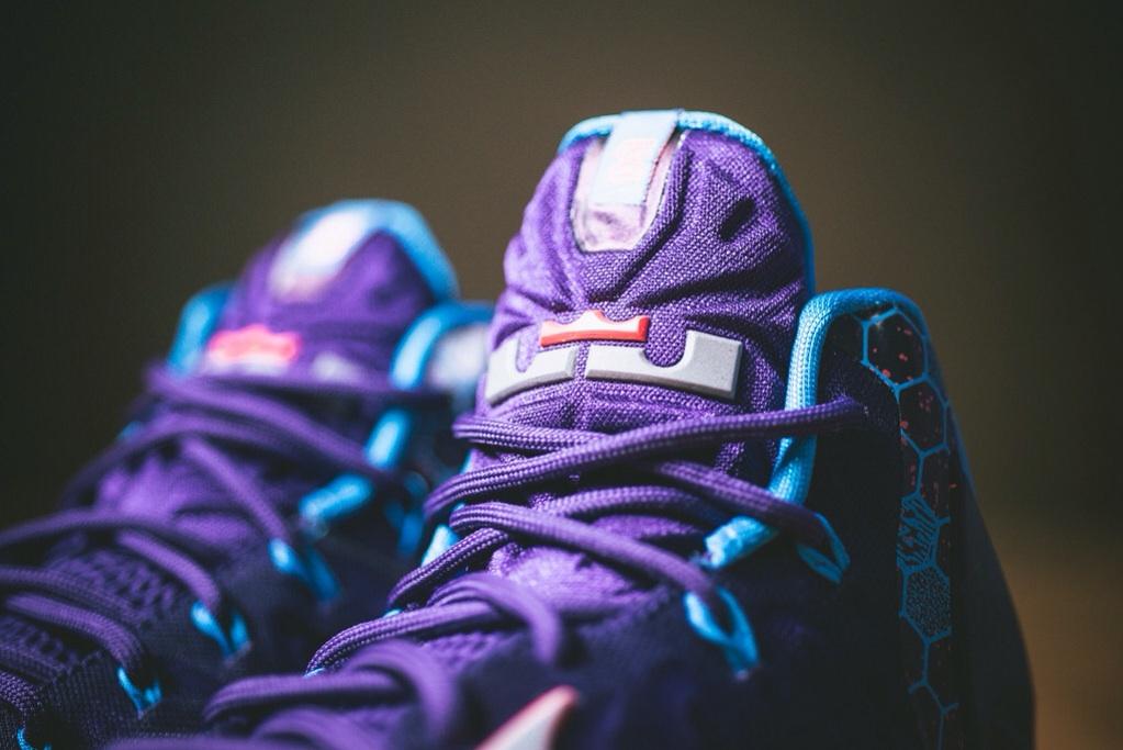 Nike LeBron 11 Court Purple 3