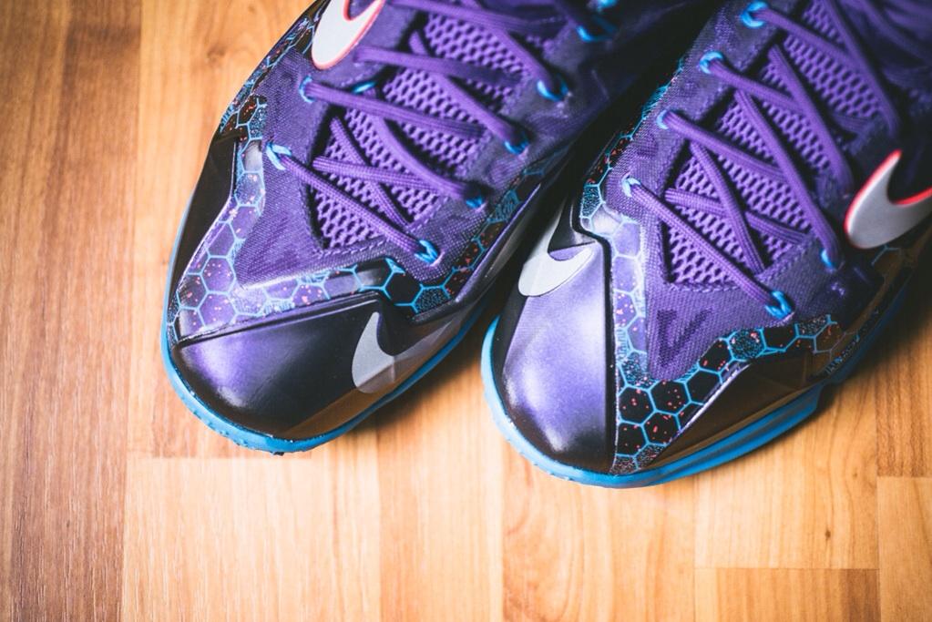Nike LeBron 11 Court Purple 4