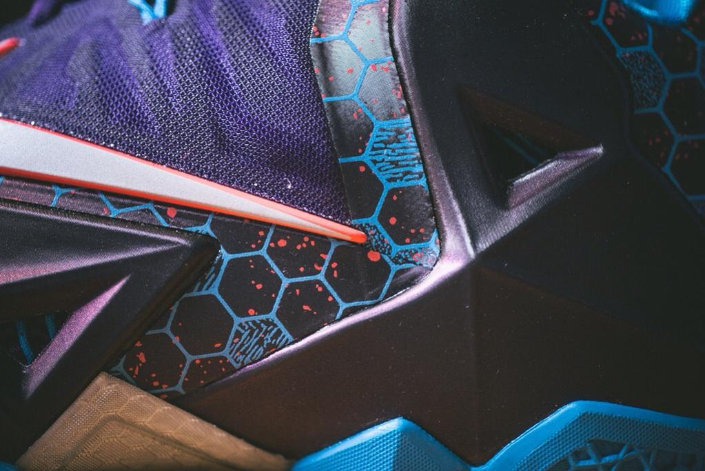 Nike LeBron 11 Court Purple 5