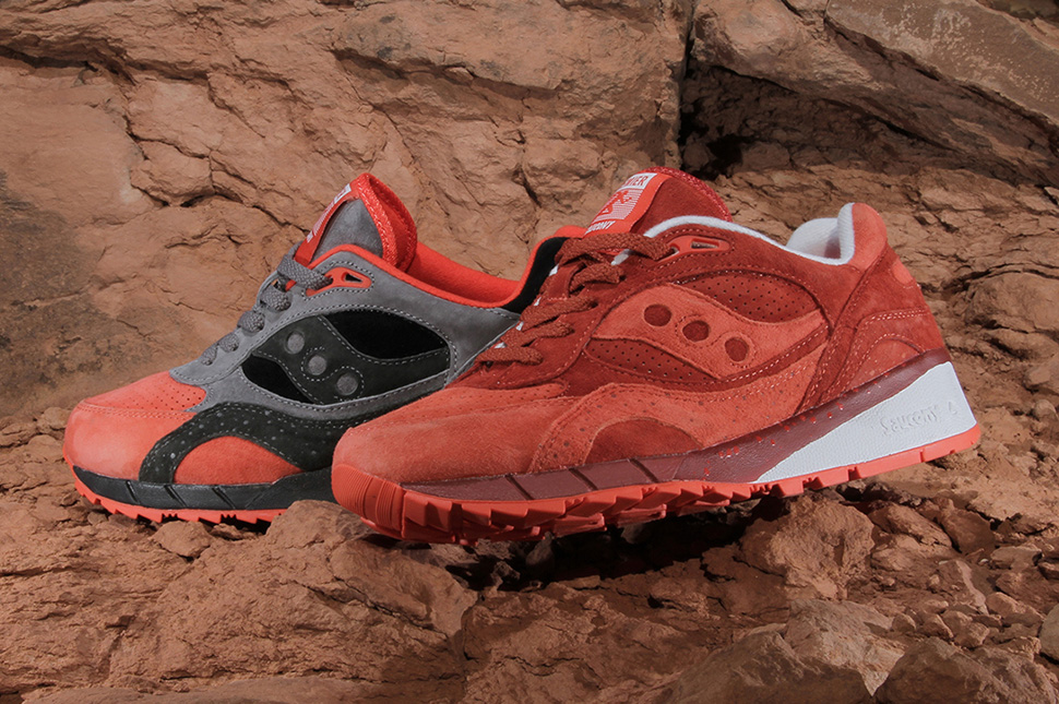 Premier x Saucony Shadow 6000 Life on Mars Pack 3