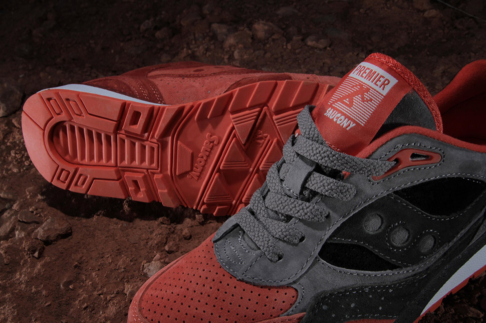 Premier x Saucony Shadow 6000 Life on Mars Pack 4