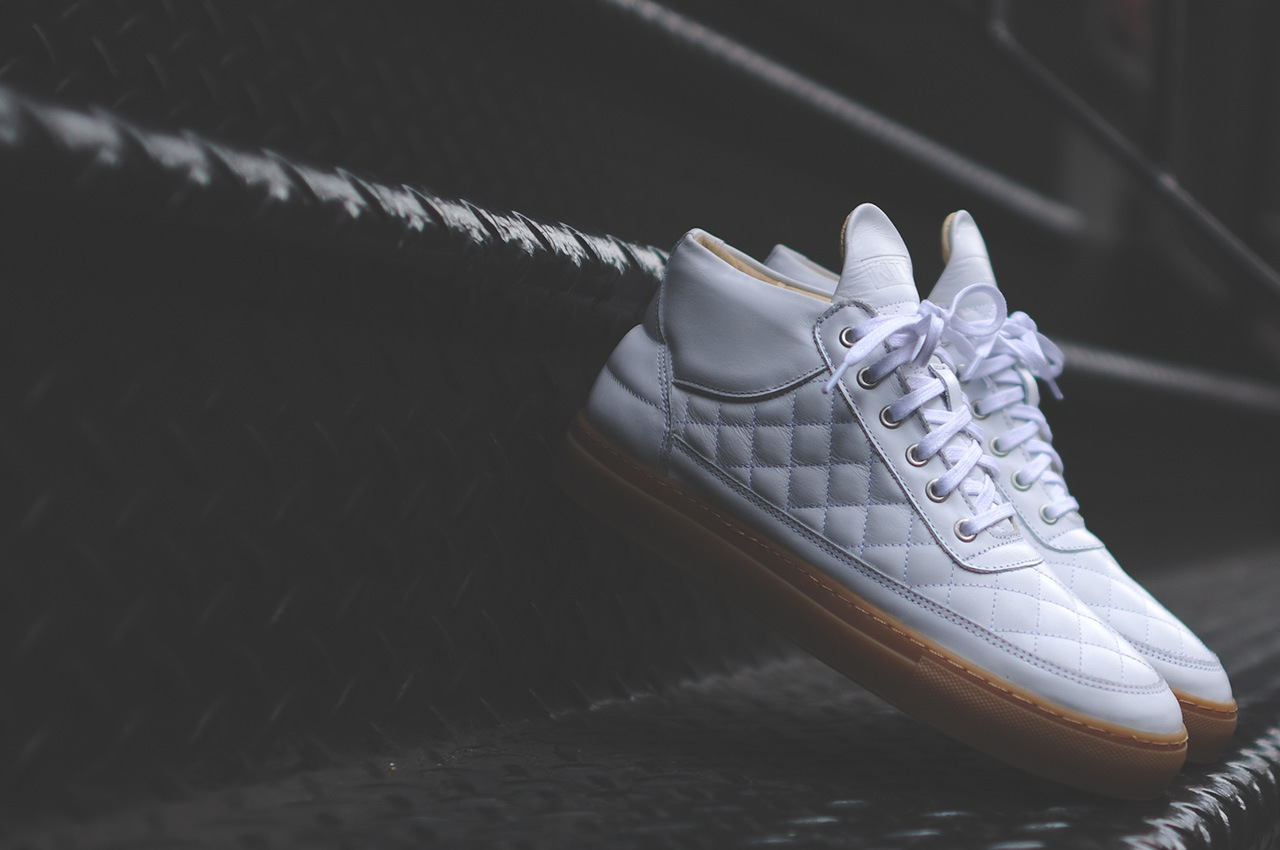 Ronnie Fieg x Filling Pieces Quilted RF Mid Preview 2