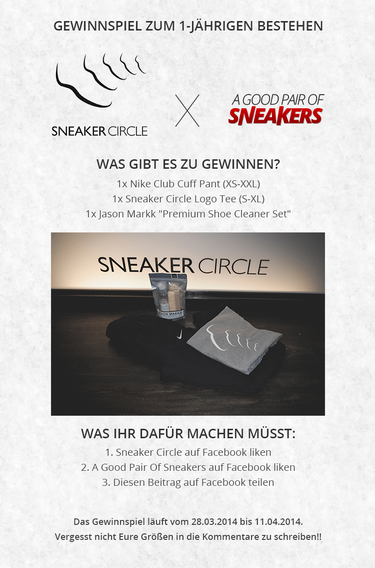 Sneaker Circle x A Good Pair Of Sneakers Gewinnspiel 1