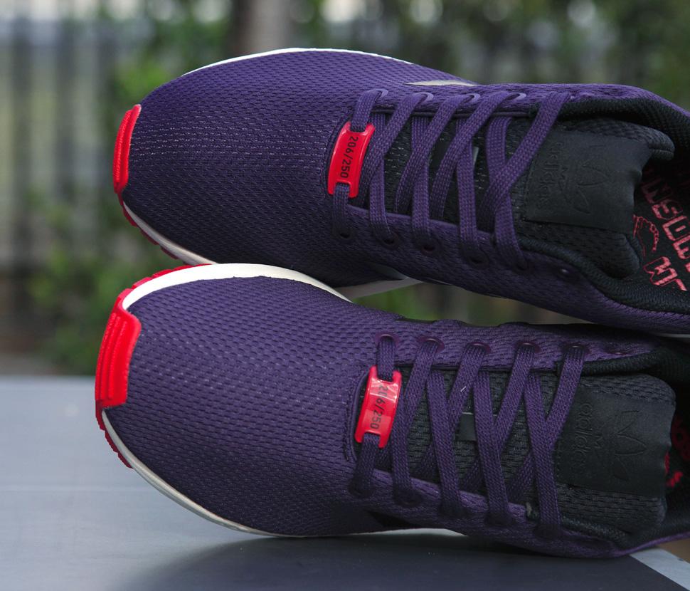adidas Consortium ZX Flux Dark Violet 2