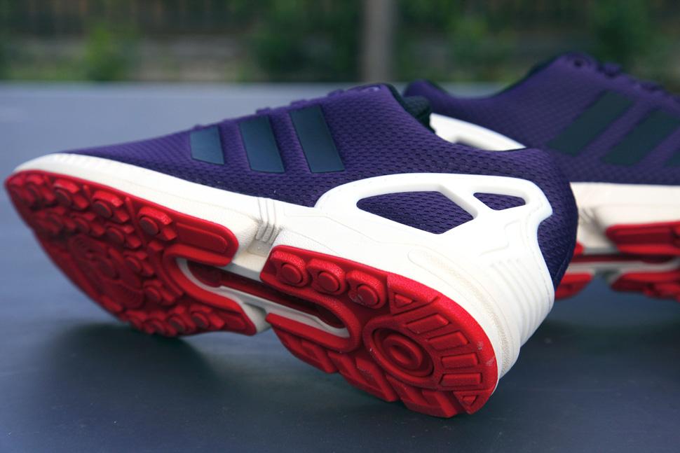 adidas Consortium ZX Flux Dark Violet 3
