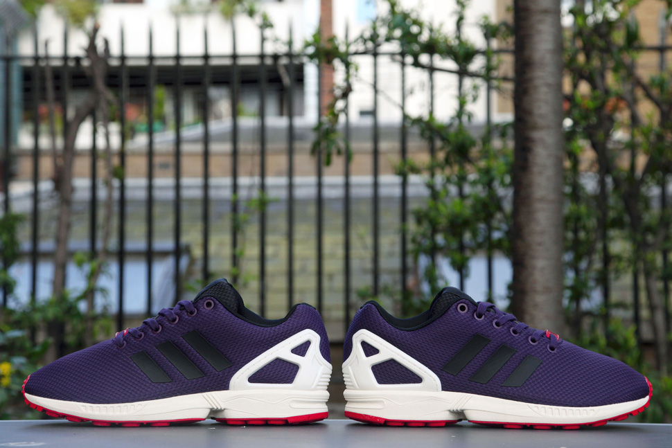 adidas Consortium ZX Flux Dark Violet 5