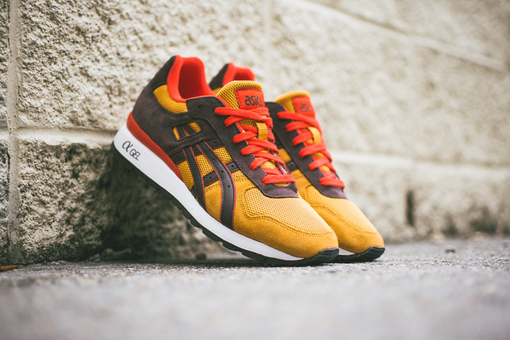 Asics GT II Tan Dark Brown 1
