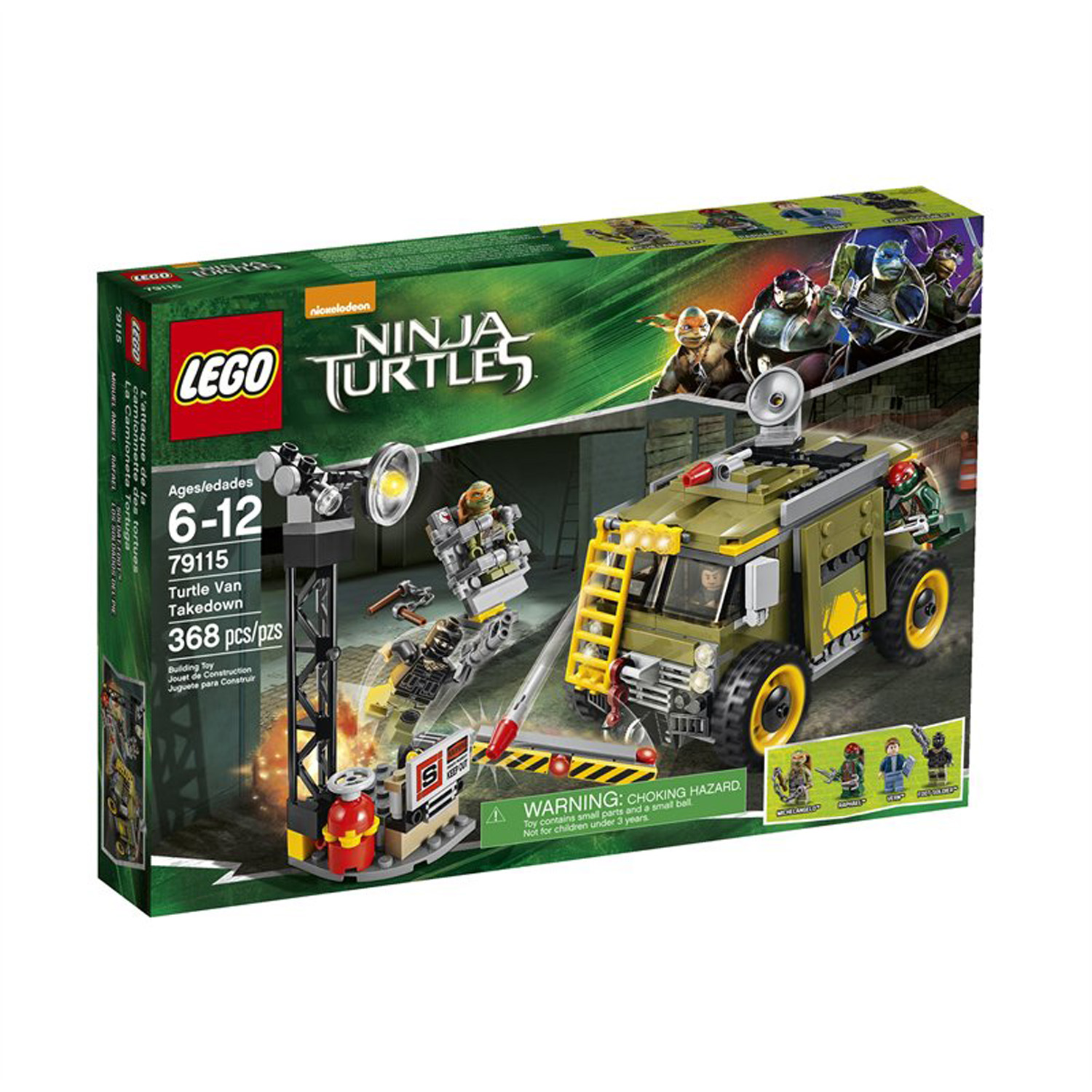 LEGO x Teenage Mutant Ninja Turtles Movie Set 1
