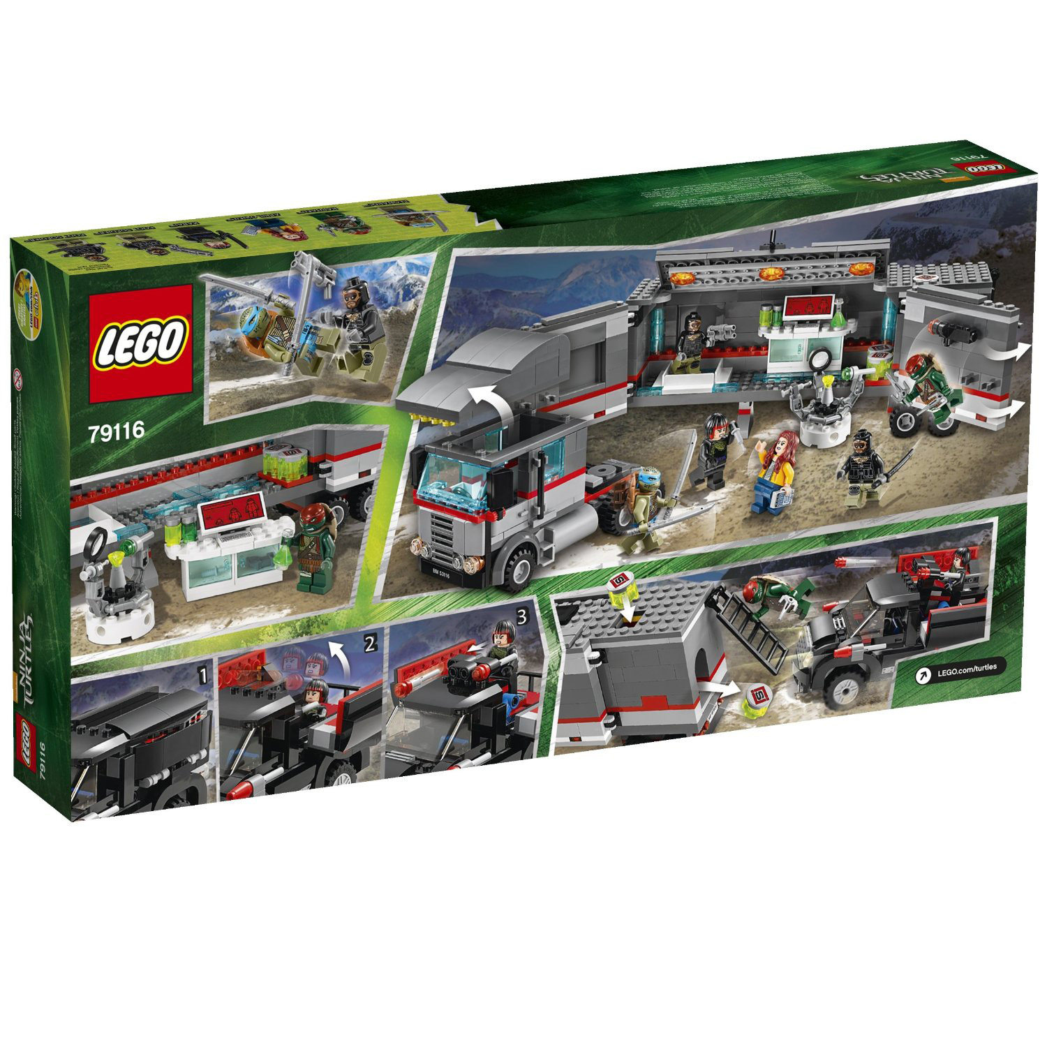 LEGO x Teenage Mutant Ninja Turtles Movie Set 15