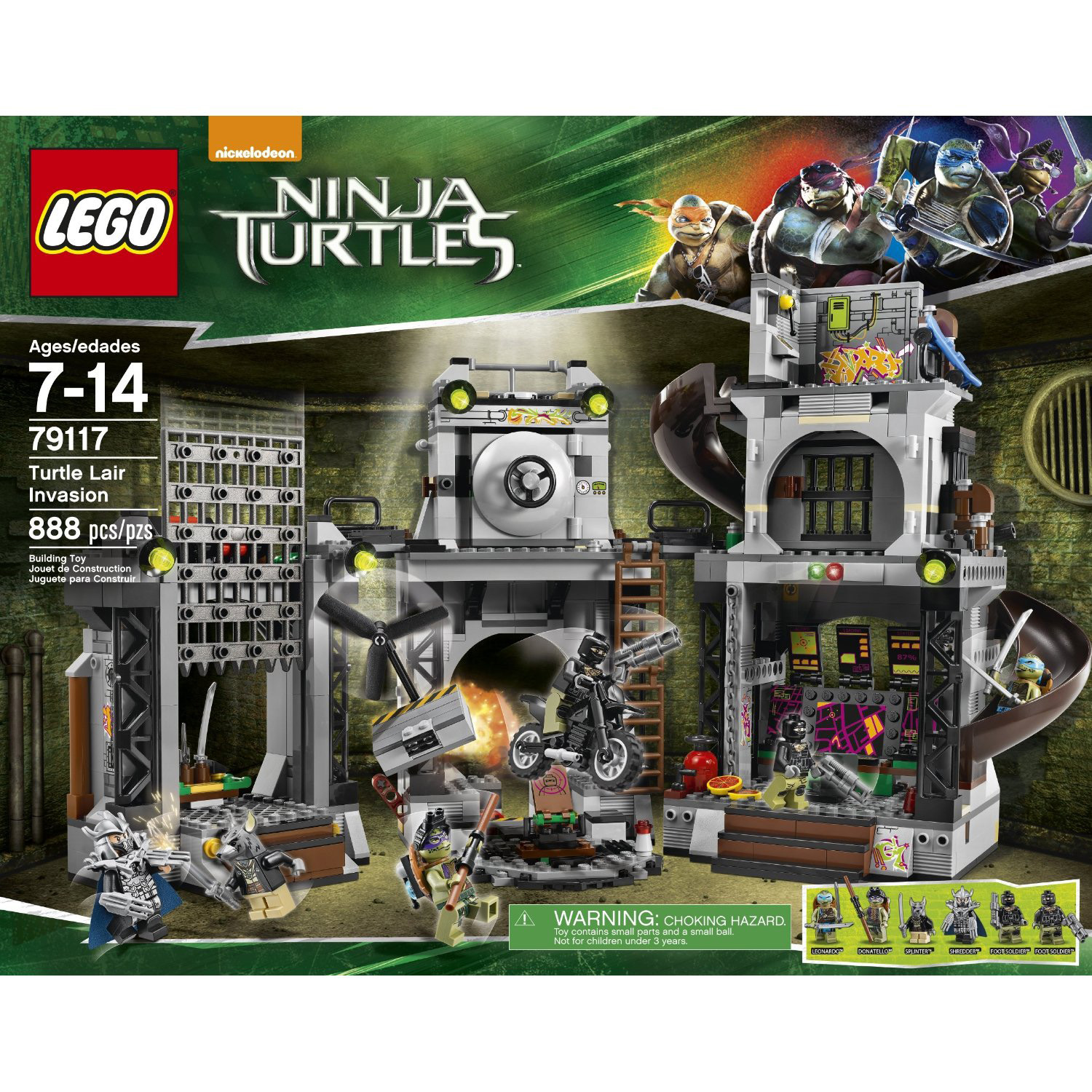 LEGO x Teenage Mutant Ninja Turtles Movie Set 18