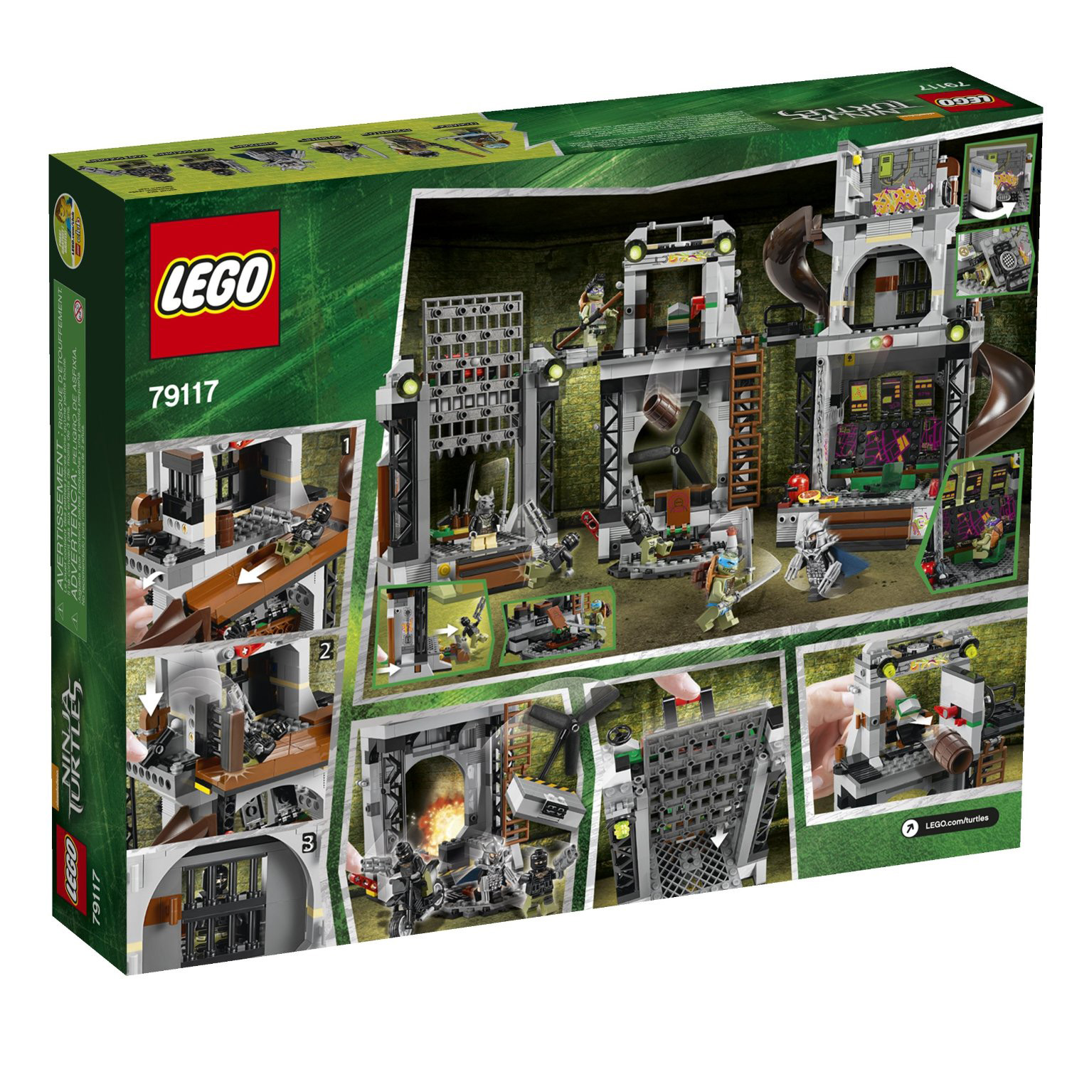 LEGO x Teenage Mutant Ninja Turtles Movie Set 19