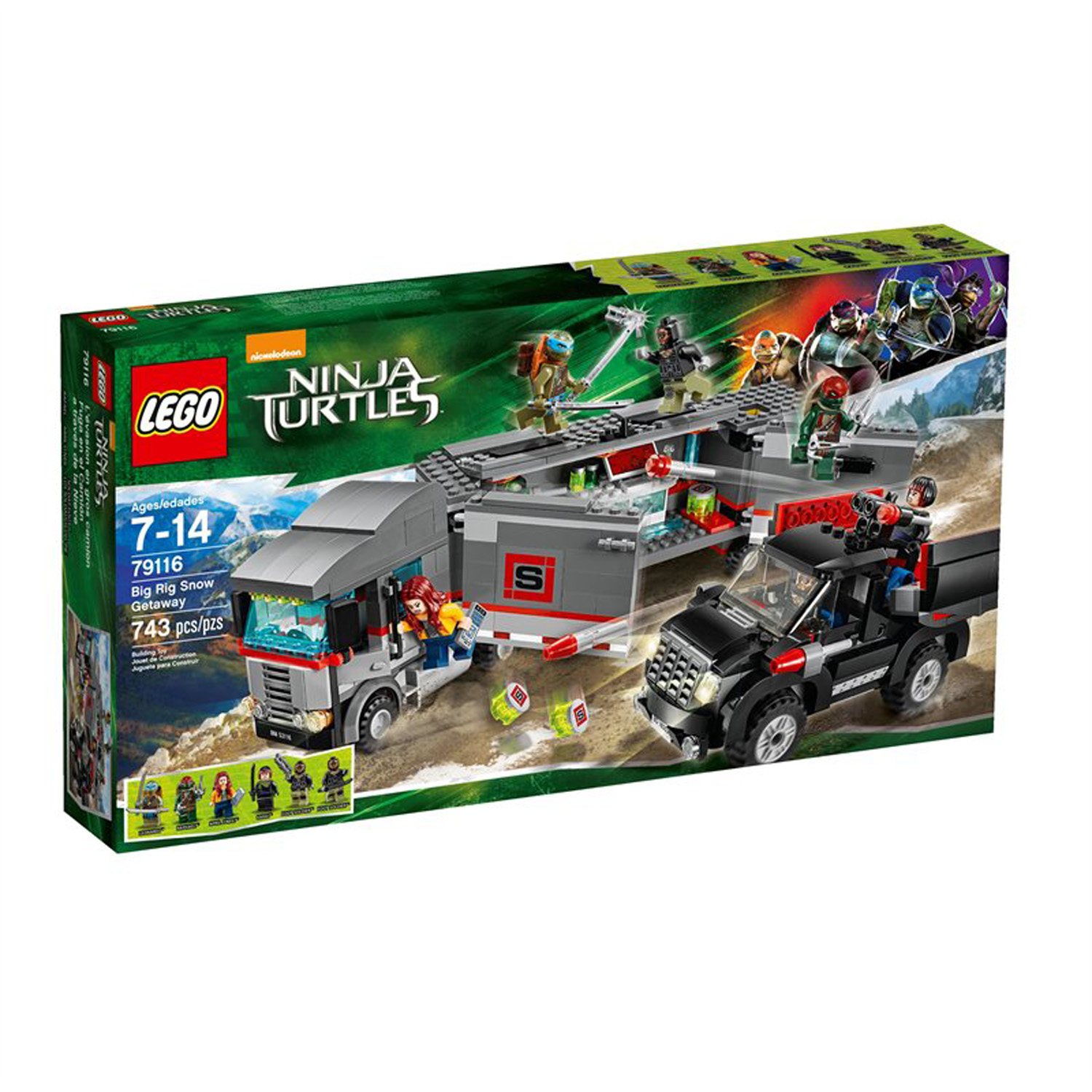 LEGO x Teenage Mutant Ninja Turtles Movie Set 2