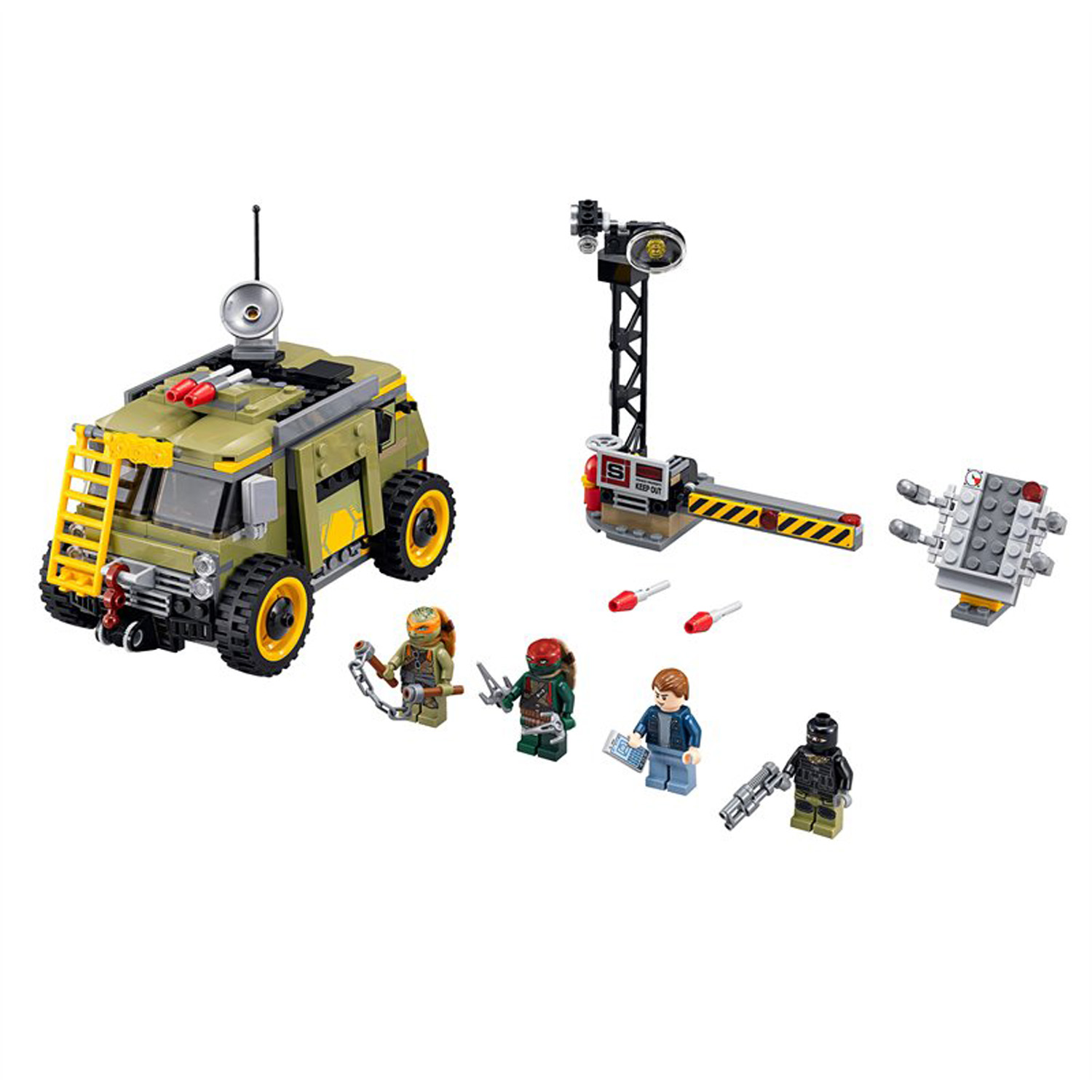 LEGO x Teenage Mutant Ninja Turtles Movie Set 3