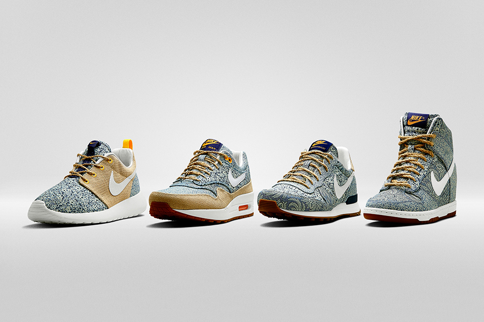 Liberty x Nike Summer Collection 2014 1