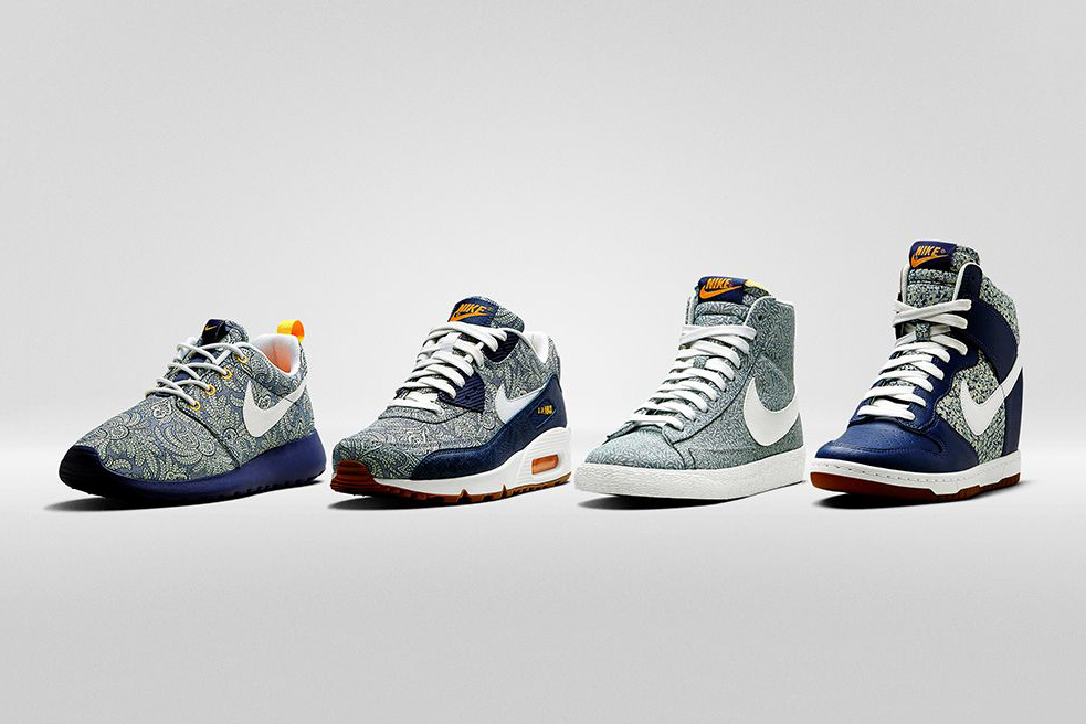Liberty x Nike Summer Collection 2014 2